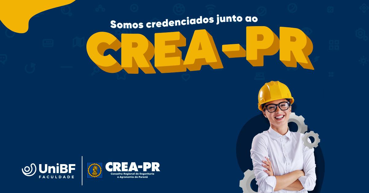 Faculdade UniBF oficializa registro junto ao CREA/PR