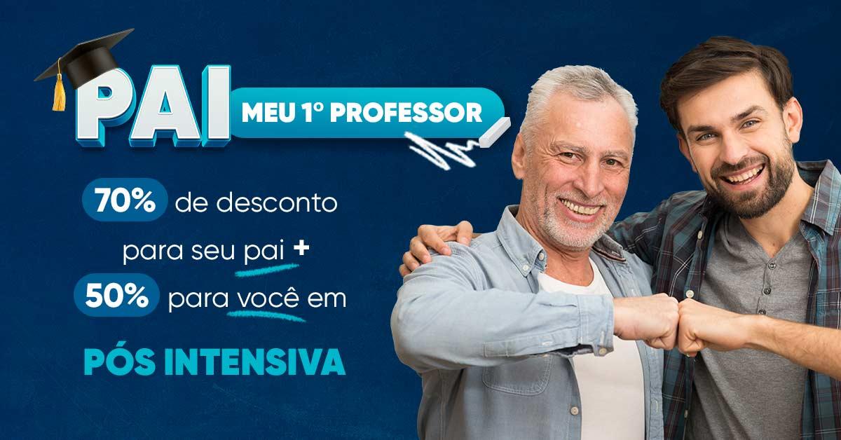 Promoção Pai Meu Primeiro Professor