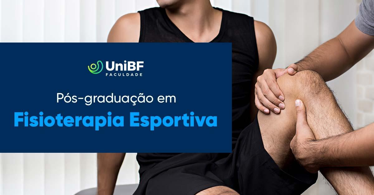 Pós-graduação em Fisioterapia Esportiva: entenda o curso